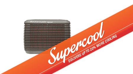 Breezair Evaporative Cooling Air Conditioner