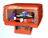 ducted-evaporative-cooling-system