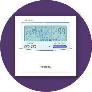 tobshiba air conditioner remote