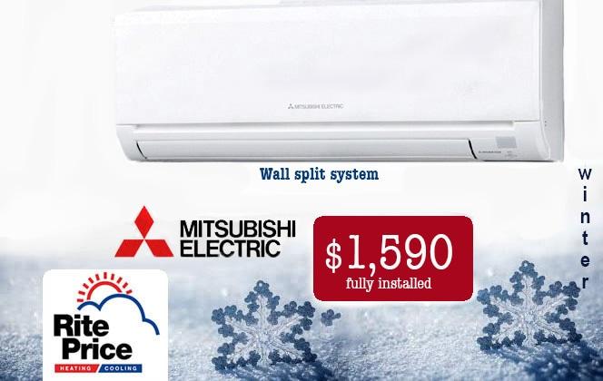 Split System Air Conditioning Specials