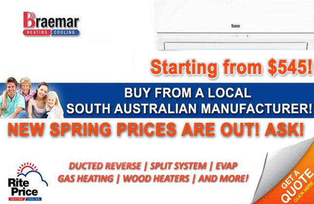 Braemar split system air conditioner