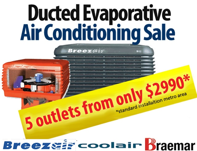 Breezair Evaporative Cooling Quality Air Conditioning