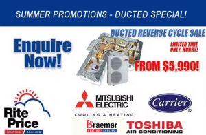 SUMMER PROMO FOR DUCTED AIR CON
