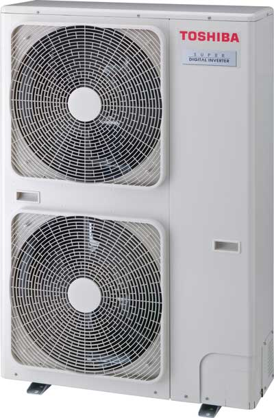 ducted air conditioning outdoor