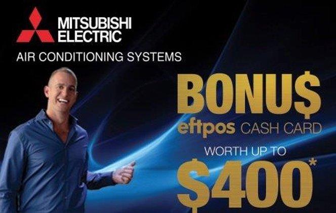 Mitsubishi cash back