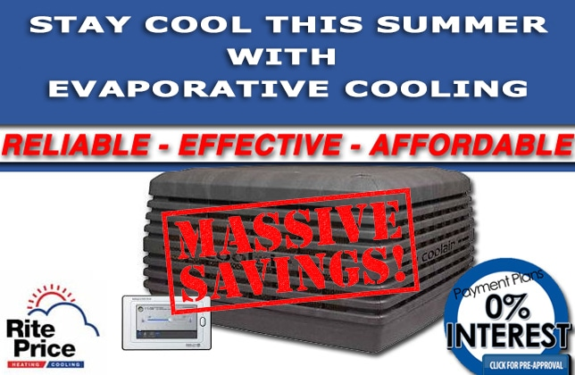 Stay cool this summer with evaporative cooling, thanks to the BADASS deal from Rite Price