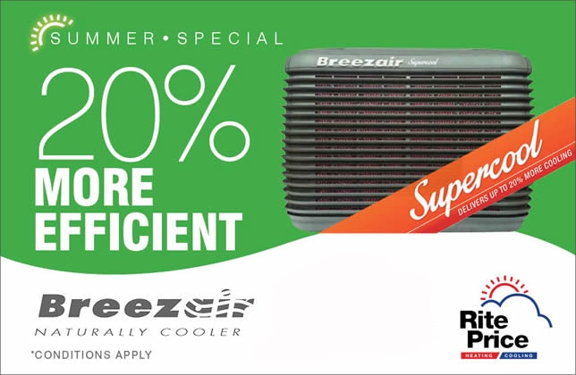breezair evaporative cooling